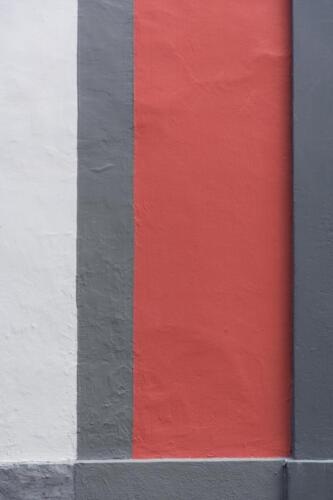 Judy Hicks - Pink on grey