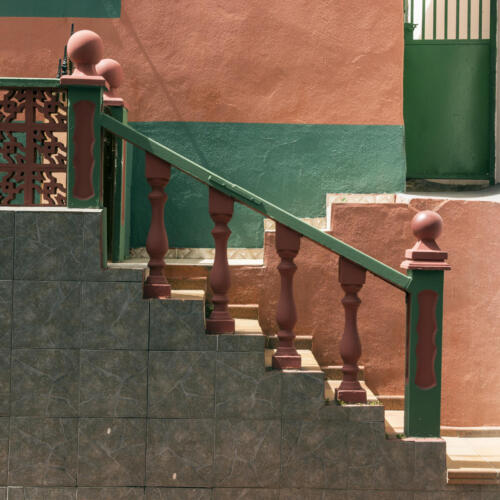 Judy Hicks - Staircase