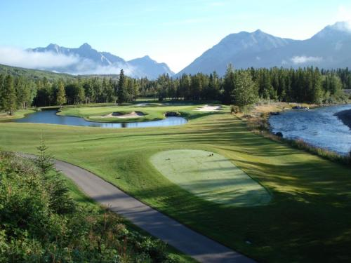 Golf at Kananaskis, Alberta