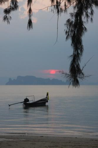Sunset on Krabi