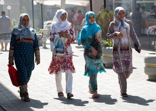 Chorsu market, Uzbekistan
