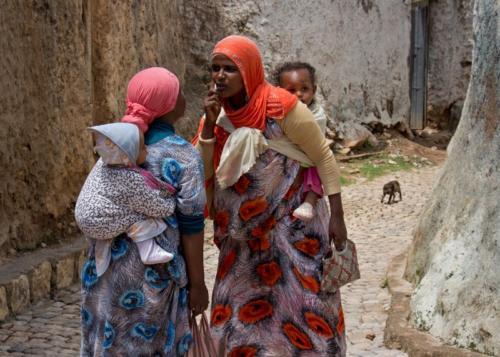 Ethiopian women, Harar