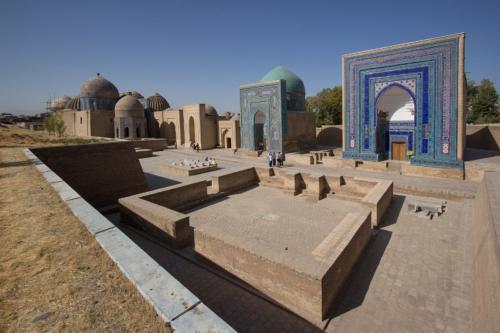 Shakhi-Zinda mausoleums, Samarkand, Uzbekistan