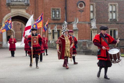 Hampton Court, Tudor Pull 2017